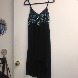 Sequin strappy dress